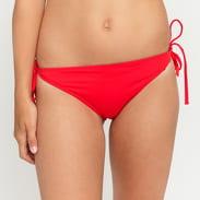 Calvin Klein Cheeky String Side Tie Bikini světle červené
