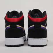Jordan Air Jordan 1 Mid SE (GS) black / field purple - white