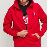 Jordan Jumpman Fleece FZ červená