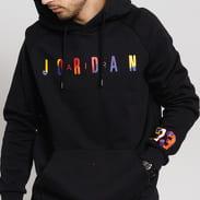 Jordan M J Sport DNA HBR Fleece PO Hoodie černá