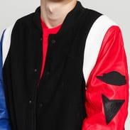 Jordan M J Sport DNA Varsity Jacket černá / modrá / červená / bílá
