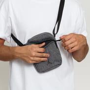 Jordan Mini Backpack melange tmavě šedá