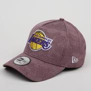 New Era 940 Aframe NBA Engineered Plus LA Lakers melange vínová / vínová