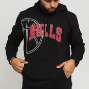 New Era NBA Graphic Basketball Hoody Chicago Bulls černá