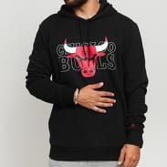 New Era NBA Graphic Overlap Hoody Chicago Bulls černá
