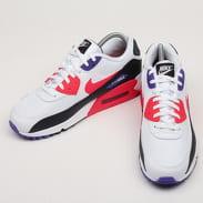 Nike Air max 90 Essential white / red orbit - psychic purple