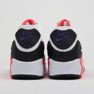 Nike Air Max 90 Leather (GS) white / bright crimson - black