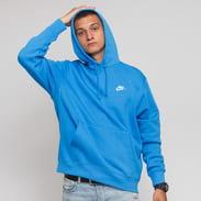 Nike M NSW Club Hoodie PO BB modrá