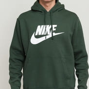 Nike M NSW Club Hoodie PO BB tmavě zelená