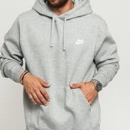 Nike M NSW Club Hoodie PO BB melange šedá