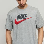 Nike M NSW Tee Brand Mark melange šedé