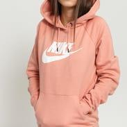Nike W NSW Essential Hoodie PO růžová