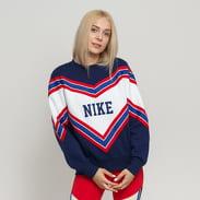 Nike W NSW NSP Crew Fleece navy / bílá / červená / modrá