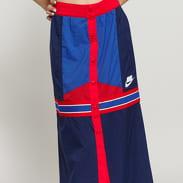Nike W NSW NSP Skirt Mid Woven navy / modrá / červená