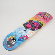 Pink Dolphin Airbrush Skateboard