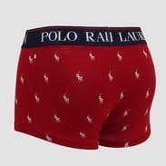 Polo Ralph Lauren Classic Print Trunk vínové / bílé