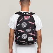 The Herschel Supply CO. Independent Classic XL Backpack černý / bílý / červený