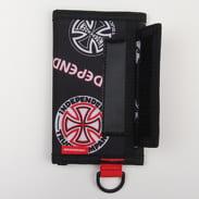 The Herschel Supply CO. Independent Fairway Wallet černá / bílá / červená