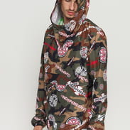 The Herschel Supply CO. Independent M Voyage Hip Pack Anorak camo zelená