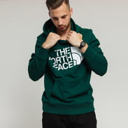The North Face M Standard Hoodie tmavě zelená