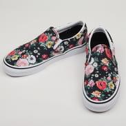 Vans Classic Slip-On (garden floral) blk / tr wht