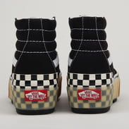 Vans SK8-Hi Stacked black / checkerboard