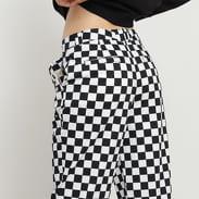 Vans WM Authentic Chino Print Trousers bílé / černé