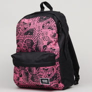 Vans WM Realm Classsic Backpack černý / tmavě růžový