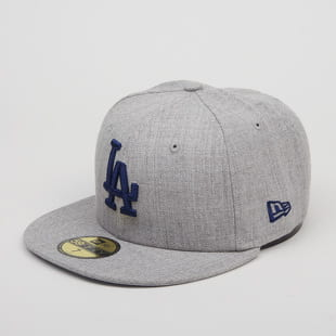 New Era 5950 MLB Heather Gray LA