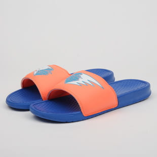Pink Dolphin Waves Streak Slides
