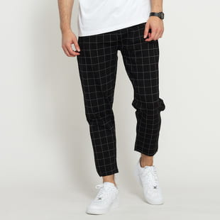 Urban Classics Formula Cropped Check Pants