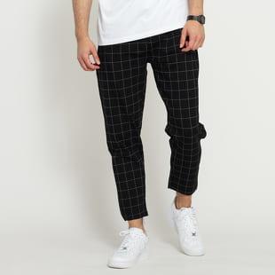 Urban Classics Formula Cropped Check Pants