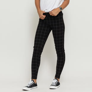 Urban Classics Ladies Check High Waist Leggings