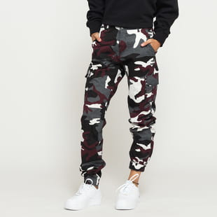 Urban Classics Ladies High Waist Camo Cargo Pants