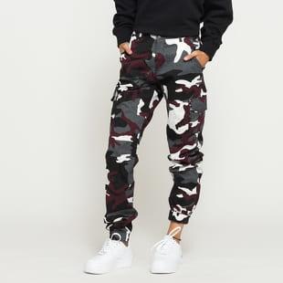 Urban Classics Ladies High Waist Camo Cargo Pants