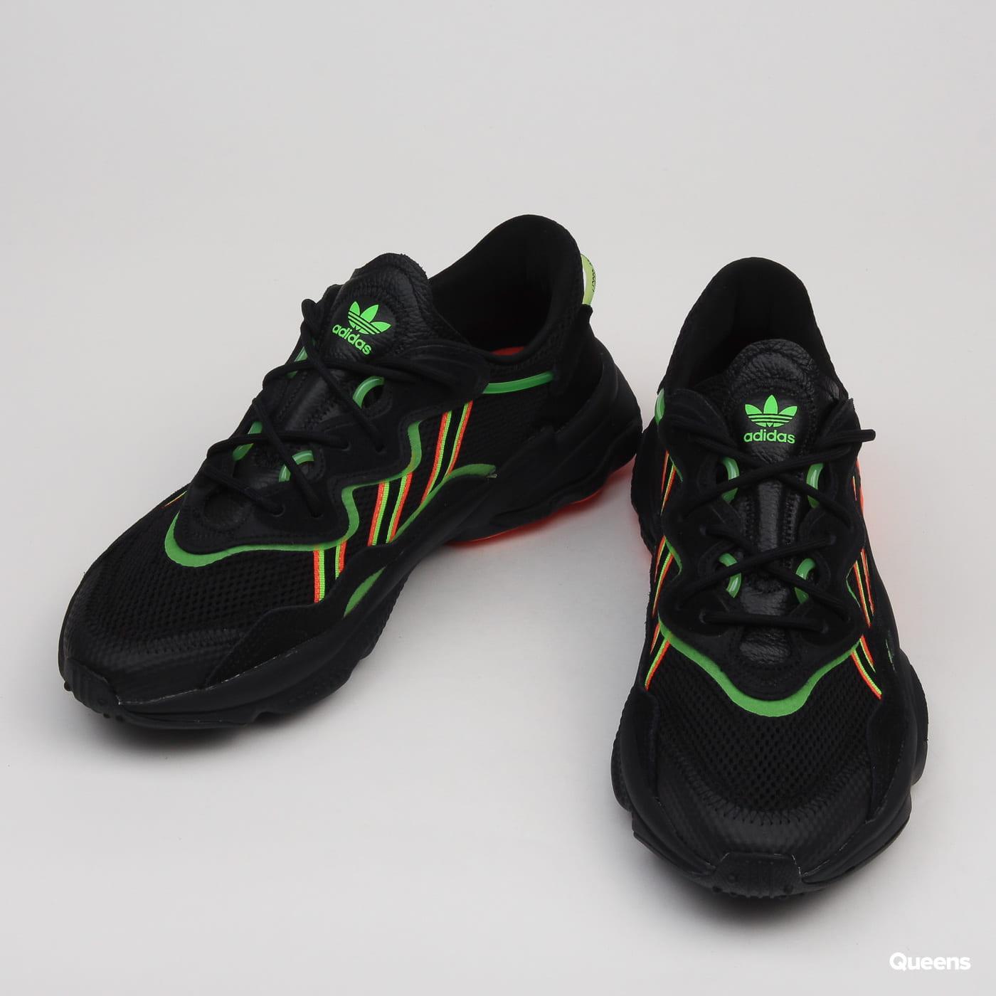 adidas Originals Ozweego cblack / sgreen / hireco