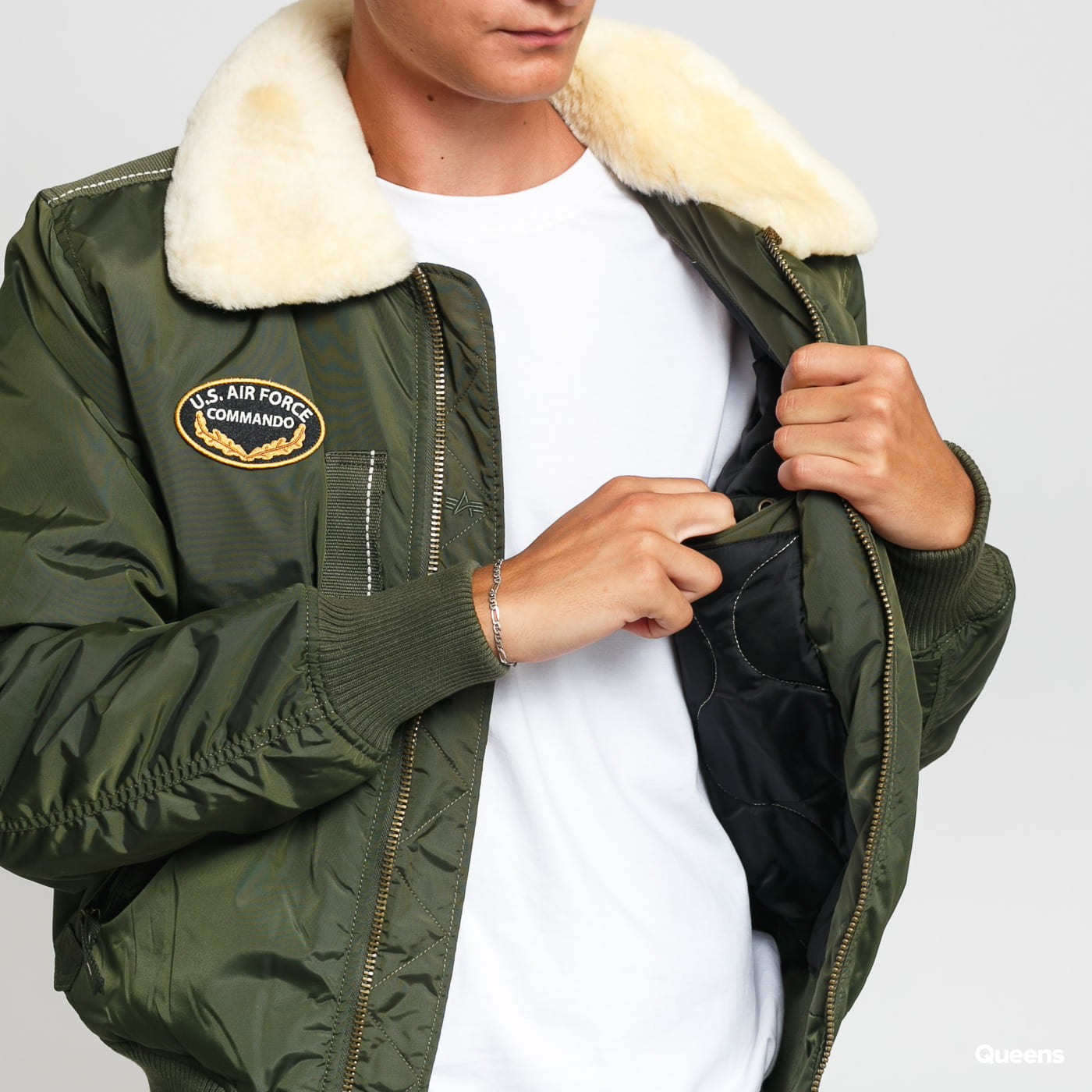 Alpha Industries Injector III Air Force dunkeloliv