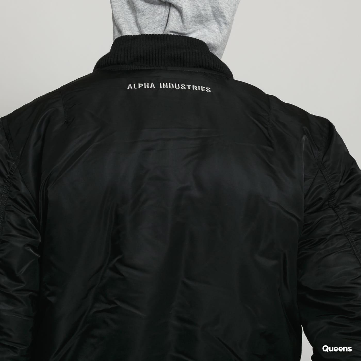 new product 65a14 3cf87 Alpha Industries MA-1 D-Tec SE black / melange gray