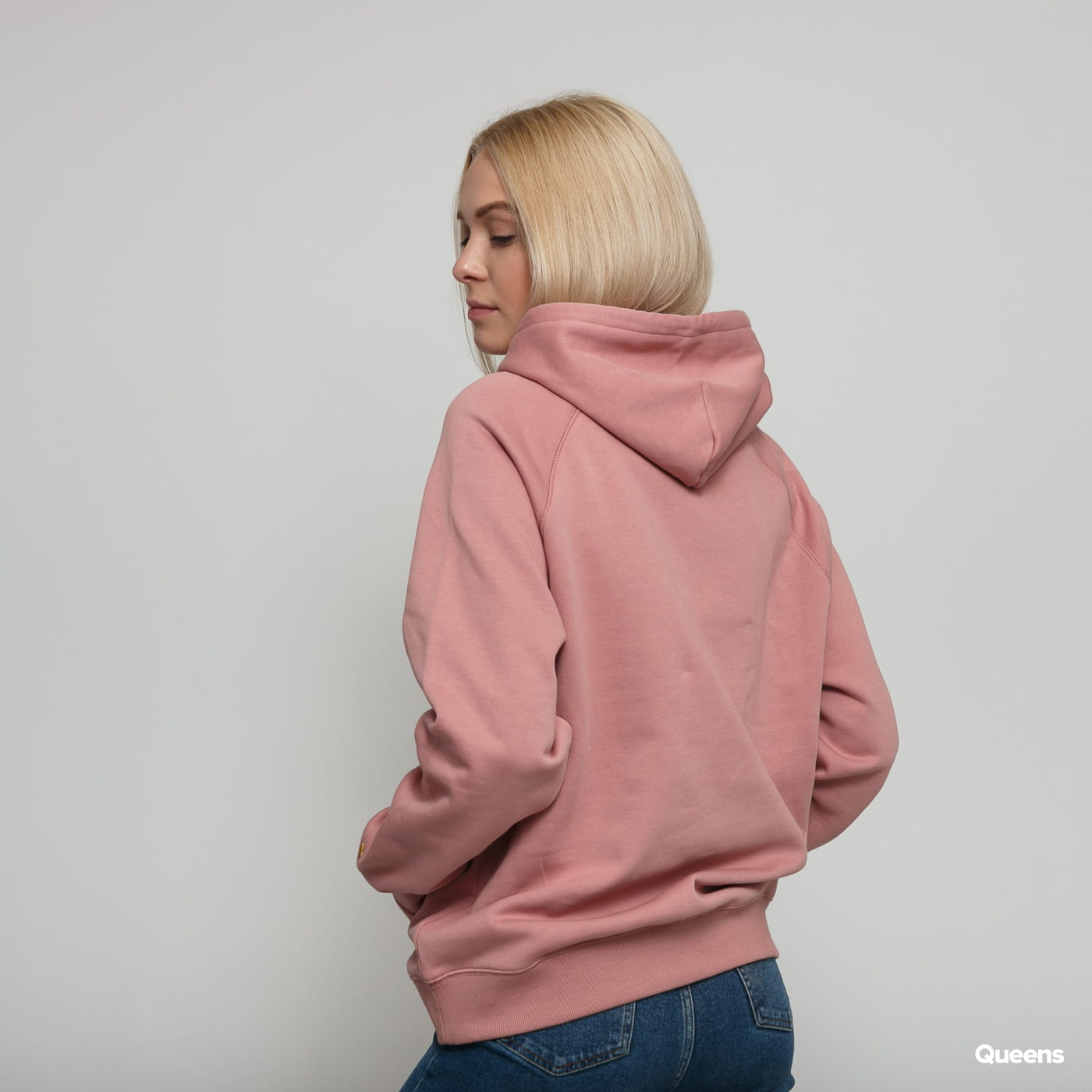 Carhartt WIP W' Hooded Chasy Sweat pink