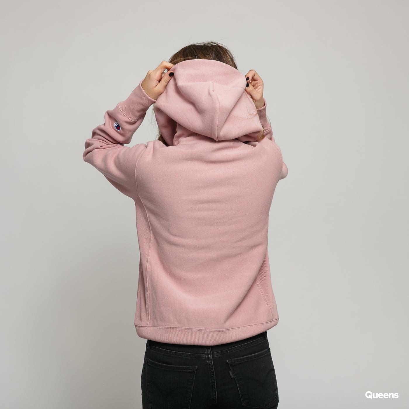 Champion Hooded Sweatshirt light pink