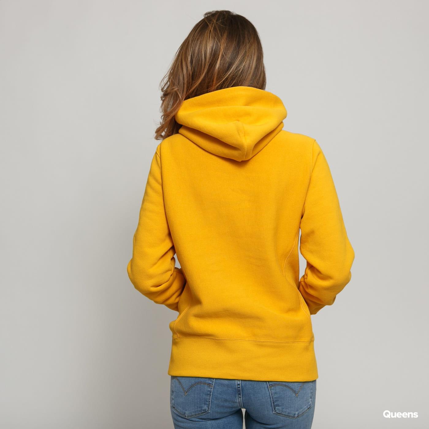 Champion Hooded Sweatshirt dark yellow
