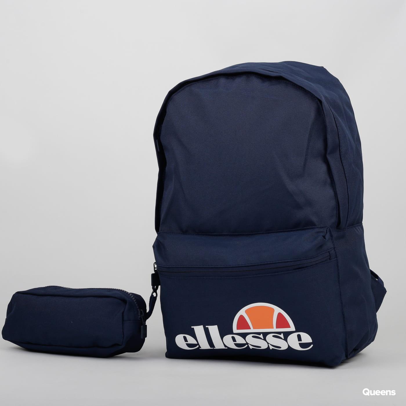ellesse Rolby Backpack & Pencil Case nava