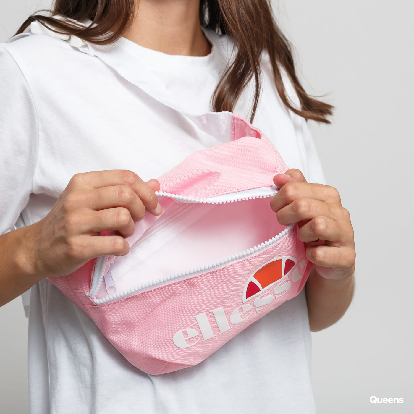 ellesse Rosca Cross Body Bag ružová