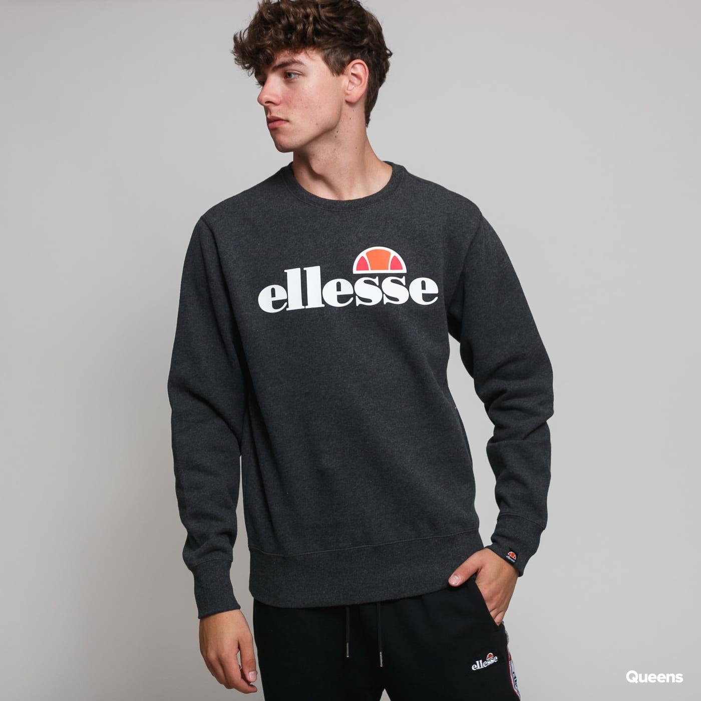 Ellesse Men/'s SL Succiso Sweatshirt Grey