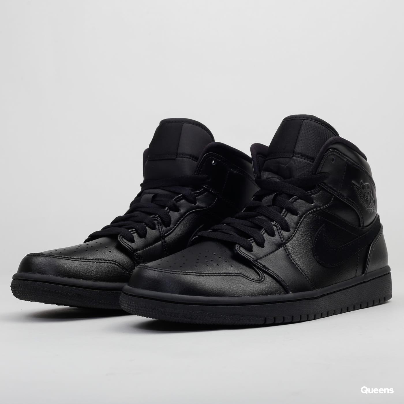finest selection 864d0 ba5b2 Jordan Air Jordan 1 Mid black / black - black
