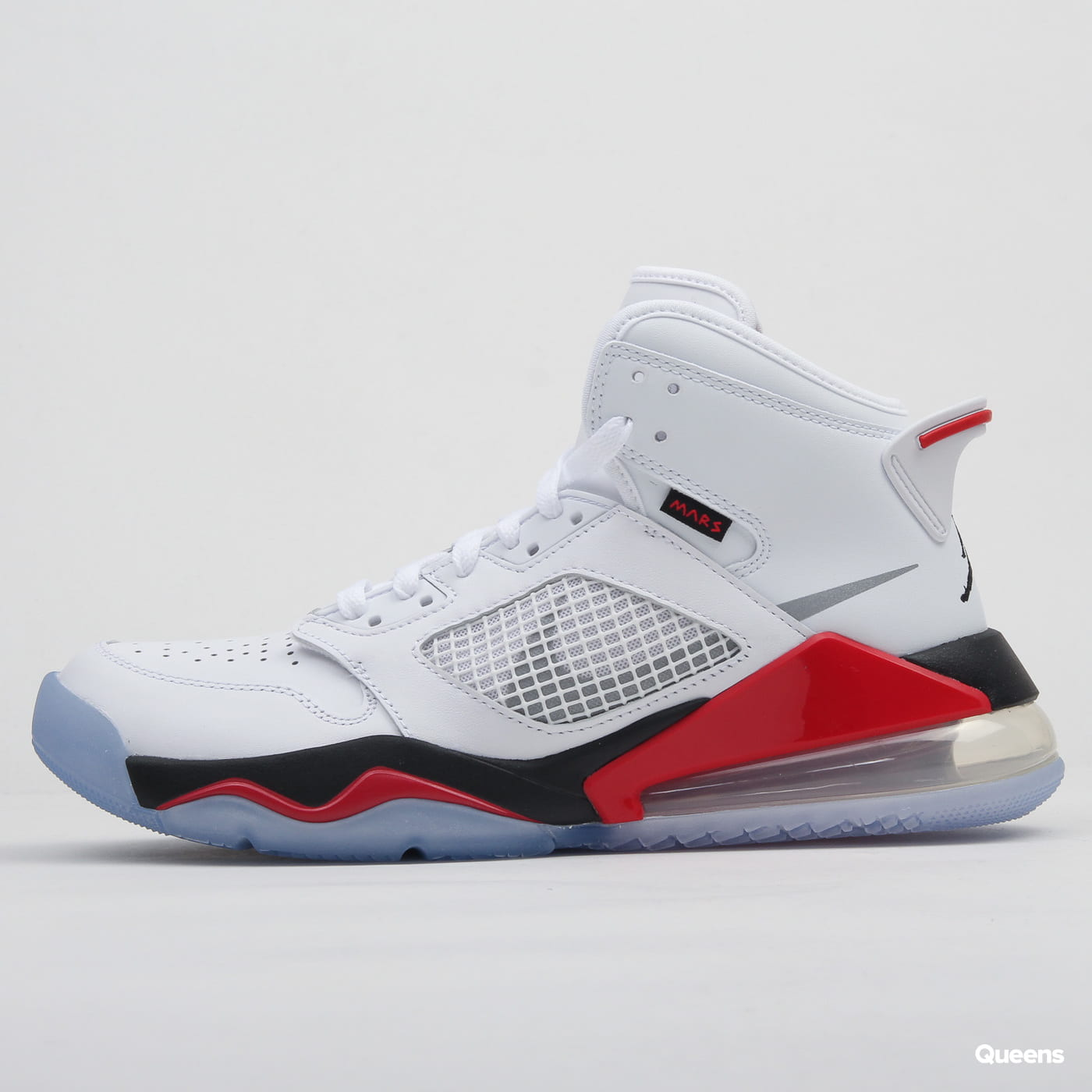 Jordan Mars 270 white / reflect silver - fire red