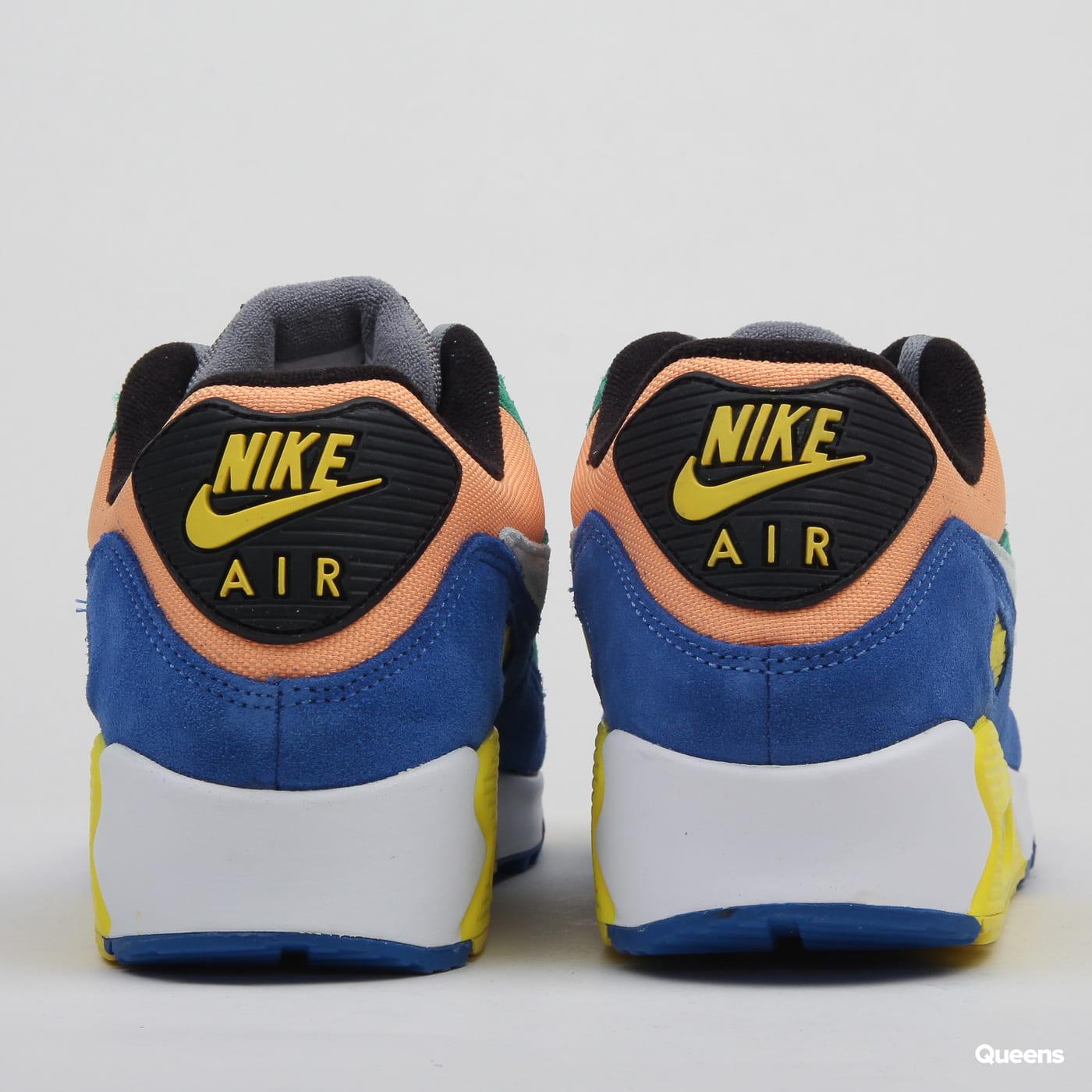Men's Blue Air Max 90 Dnm Qs