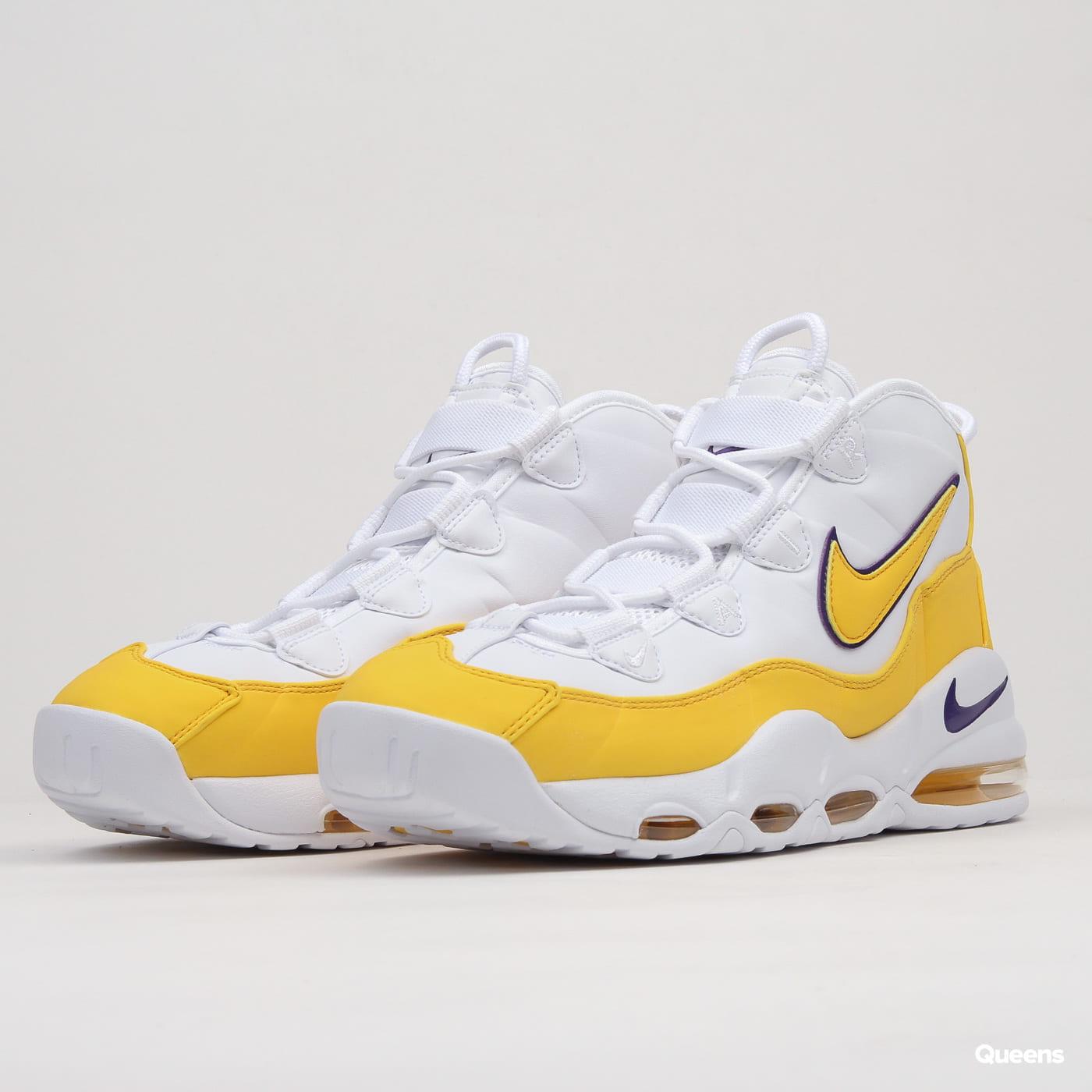 watch e2b6b d2452 Nike Air Max Uptempo '95 white / amarillo - court purple