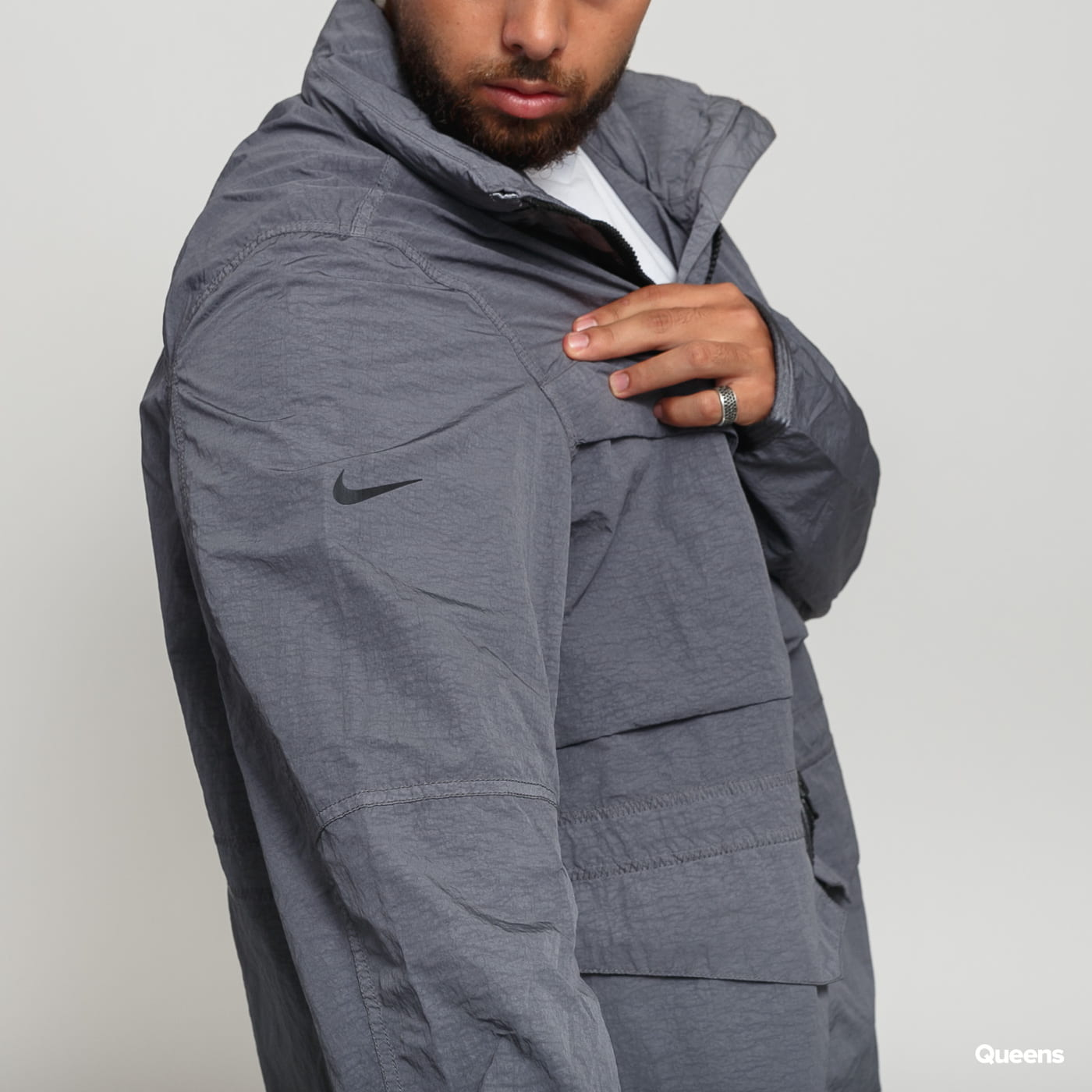 Nike M NSW Tech Pack Jacket Dye dark gray