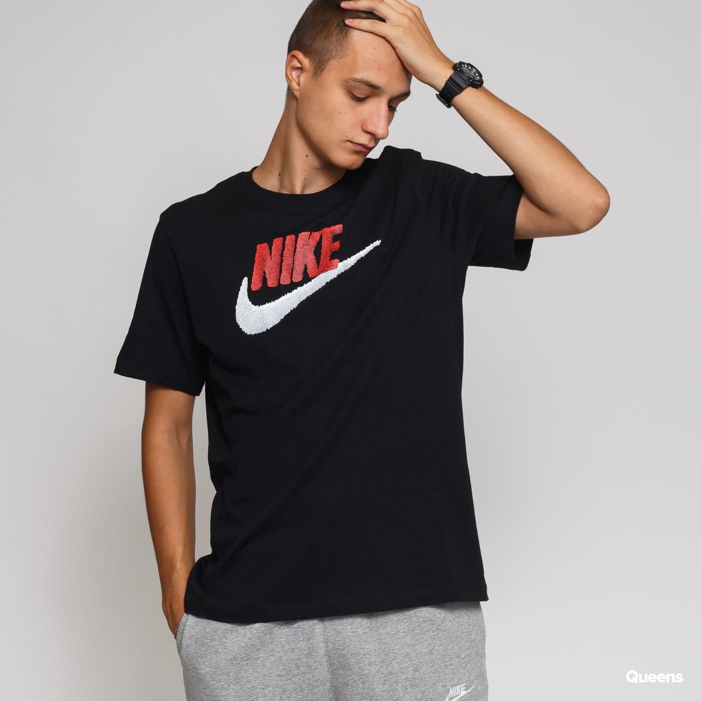 Nike M NSW Tee Brand Mark black satin